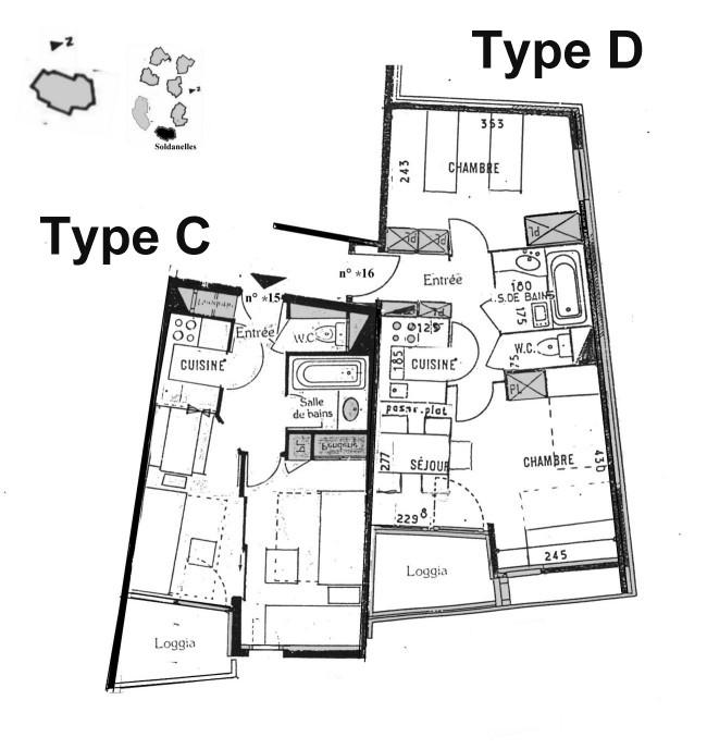ca c 39 est du document quelques plans d 39 appartements. Black Bedroom Furniture Sets. Home Design Ideas